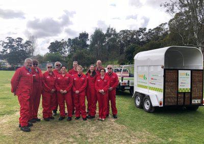 SAVEM Tent Team
