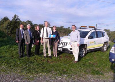 Swedish Ag Dept delegation visit, 2013