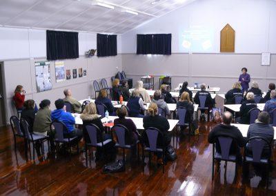 Level 1 training, Cherry Gardens Memorial Hall