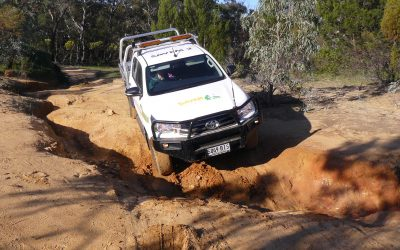 SAVEM goes 4WD training