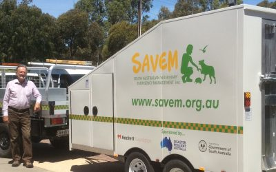 SAVEM field hospital trailer