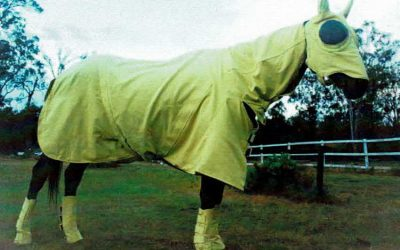 Kevlar fire protection for horses from TBAFirefly